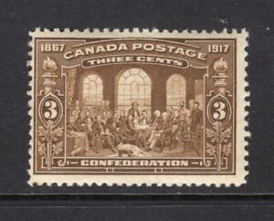 Canada 1917 3¢ Confederation - OG MNH - SC# 135  Cats $115.00  - No Reserve!