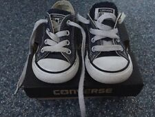 Toddler Boy Converse Lo Pumps Trainers Navy Blue UK 5