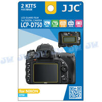 JJC LCD Guard Display Monitor Screen Protector Film For NIKON D750 DSLR Camera