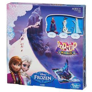 Disney Frozen Anna Elsa Olaf Pop-Up Magic Pop Up Board Game Toy