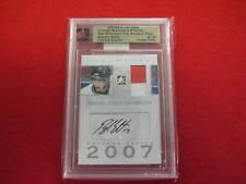 2007 ITG Brandon Sutter Ultimate Memorabilia autograph jersey card #ed 6 of 40