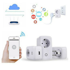 Sonoff S20 WIFI Smart APP Remote Control Timer Socket EU Plug Home Automation BO
