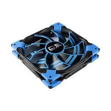 Aerocool Dead Silence 12cm Blue LED 1200RPM Fan Dual Material/Colour FDB Fan - R