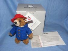 Steiff Paddington Bear Ornament Limited Edition 11cm Brand New 690396
