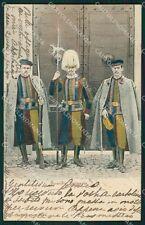 Roma Vaticano Guardie Svizzere cartolina XB1910