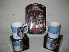 5 tlg. Geschenkeset Tomb Raider Tasse Actionfigur Lara Croft