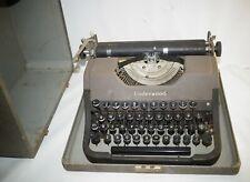 Antique Underwood Universal Portable Typewriter in Case Works TLC Case