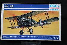 YB055 ESCI 1/72 maquette avion 9016 SE 5A