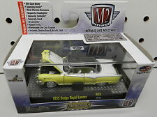 1955 DODGE BOYS ROYAL LANCER FORWARD LOOK YELLOW WHITE MOPAR 15-74 M2