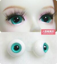 14mm  For BJD DOD AOD MK OK RD Doll Dollfie Glass Eyes Outfit Green 31