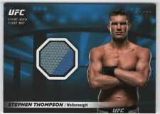 2018 Topps UFC Knockout Fight Mat Blue Relic /50 #FMR-ST Stephen Thompson