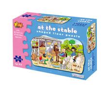 English Farm Big Shaped Floor Puzzle Jigsaw Children Toys Kids Giant 35 pieces