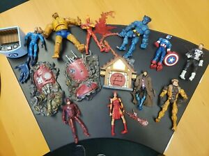 Marvel legends Avengers Lot of 9 with accessories
