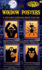 Giant Freaky Monster Window Poster Halloween Decoration