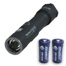 Armytek Partner C2 Pro v3 2000Lm Flashlight XHP35 LED w/2x Eco-Sensa Batteries