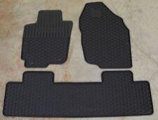 NEW Genuine OEM 2013-2018 Toyota RAV4 Black Rubber Floor Mat Set PU320-42130-R1