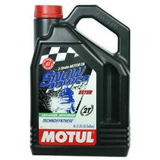 MOTUL 2T Motul Snow Power ESTER SYNTECTIC 2-Stroke Snowmobile Oil 4L 1 GALLON