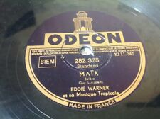 78 Rpm EDDIE WARNER - Maïa ODEON 282.375