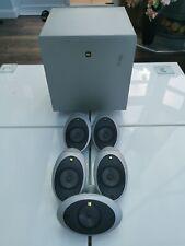 Kef Surround Sound Speakers 5x KHT1001.1 HTS1001.1 + PSW1000.2 Subwoofer Activo