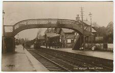 More details for the railway station, blair atholl - perthshire postcard w g stewart