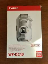 Canon WP-DC40 Waterproof Housing for Canon S60 & S70 Camera