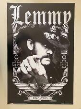 Motorhead, Lemmy Photo By Robert John,Authentic Licensed 2016 Poster