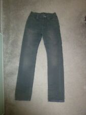 GAP GREY SKINNY JEANS TROUSERS AGE 12