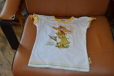 tee shirt holly hobbie blanc jaune comme sarah kay 4 ans bien mimi