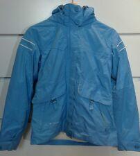 COLUMBIA Titanium 2-in-1Jacket Outdoor Snow Ski Polar Fleece Blue Cream Sz S