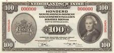 Netherlands Indies 100  gulden / Rupiah  2.3.1943  P 117s  Uncirculated Banknote
