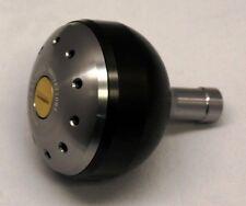 JW Votex 45mm Power Knob Daiwa Saltiga Star Drag Reels Black/Silver