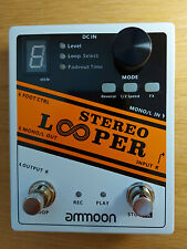 More details for ammoon stereo looper pedal, boxed, good condition.