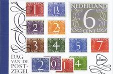 PRESTIGEBOEKJE PR 55 DAG VAN DE POSTZEGEL 2014 CAT.WRD. 16,00 EURO