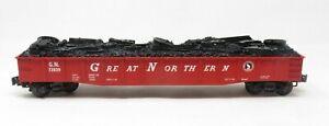 K-Line K652-1591 Great Northern O Scale Die Cast Gondola NIB