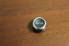 03-07 Nissan Murano Navigation Radio CD Player Switch Control Knob Top Chrome