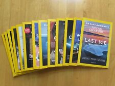 National Geographic Issues (Jan 2018 - Jan 2019) - priced individually