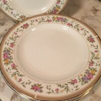 Farberware Bellini Porcelain 22K Band Salad Plates Set Of Five