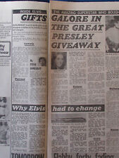 Elvis Presley - The Sun 26/5/1977 - 2 page article
