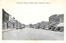 Wisconsin, WI, Tomahawk, Wisconsin Avenue Looking West Chrome Postcard