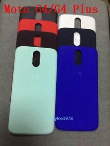 Battery Rear Back Door Case Cover For Motorola Moto G4/G4 Plus XT1644 XT1622 new