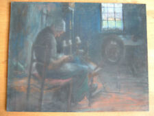 Handsignierte Malerei mit Pastell-Technik
