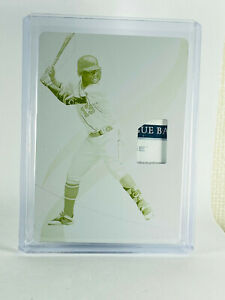 2019 Immaculate Ronald Acuna Jr. Printing Plate #1/1