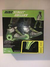 Neon Street Roller Green Age 6+ Attachable Rollerblades Heelies Brand New
