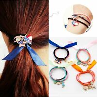 Ribbon Rope Cute Hair Ties Ring Bow Elastic Hair Band Girls Hair Accessories