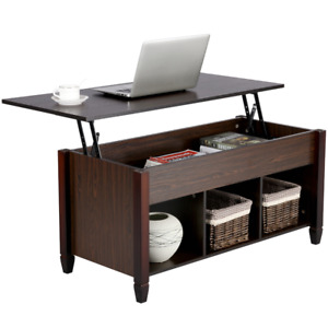 Smilemart Modern Lift Top Coffee Table Storage for Living Room