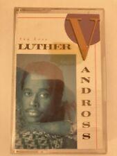 Luther Vandross - Any Love - Cassette Tape Album
