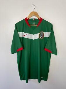 MEXICO 2006-07 (XXL) NIKE HOME FOOTBALL SHIRT VINTAGE CLASSIC RETRO