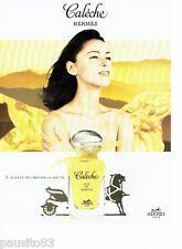 PUBLICITE ADVERTISING  116  1997   Calèche soie de parfum Hermès