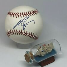Michael Vick signed Rawlings OML Baseball JSA COA Eagles Falcons A1490