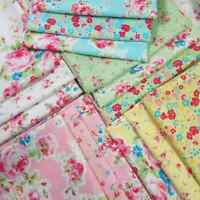 ANTIQUE FLOWER PASTEL Lecien Japanese Shabby Chic Quilt Fabric~16 Fat Quarters